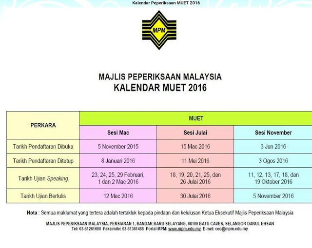 Jadwal-Ujian-Peperiksaan-MUET-2016