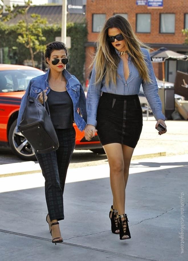 Street Style The Kardashians Stylish Starlets