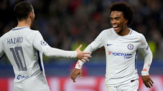 SPORT: Chelsea seal UCL knockout stage qualification with Qarabag rout