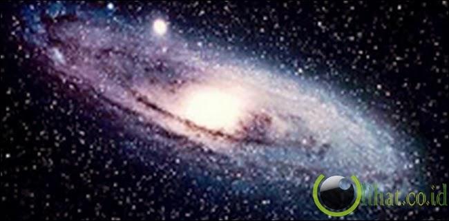 Terdapat miliar bintang di alam semesta