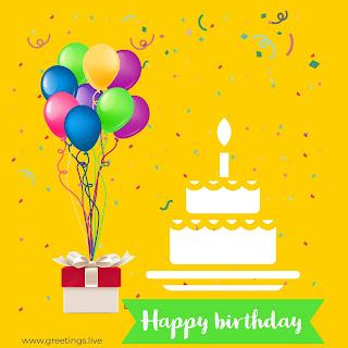 Happy birthday wishes Greetings birthday cake balloons .jpg