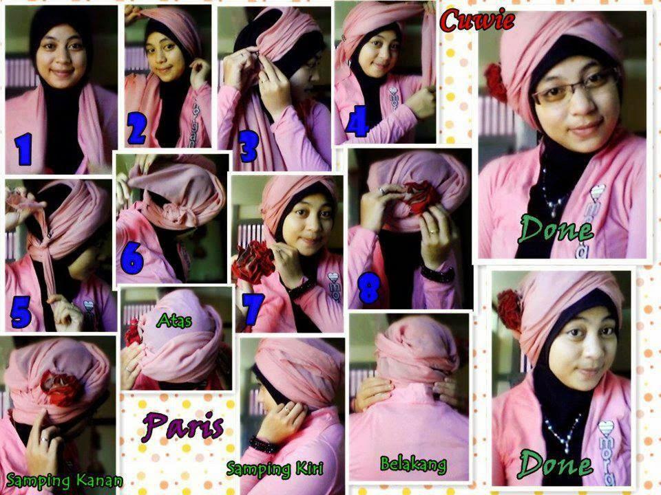 jilbab segi empat modern 1