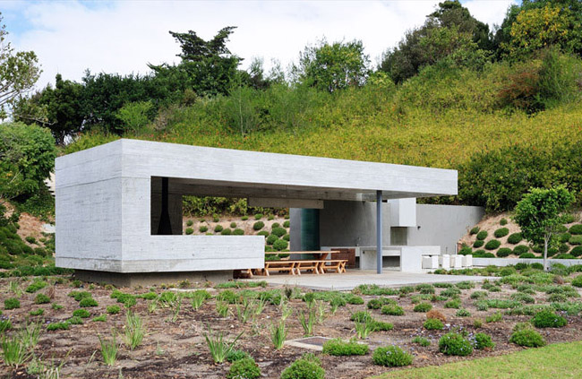 Casas minimalistas y modernas pabellon quincho moderno en - Gartenpavillon modern ...
