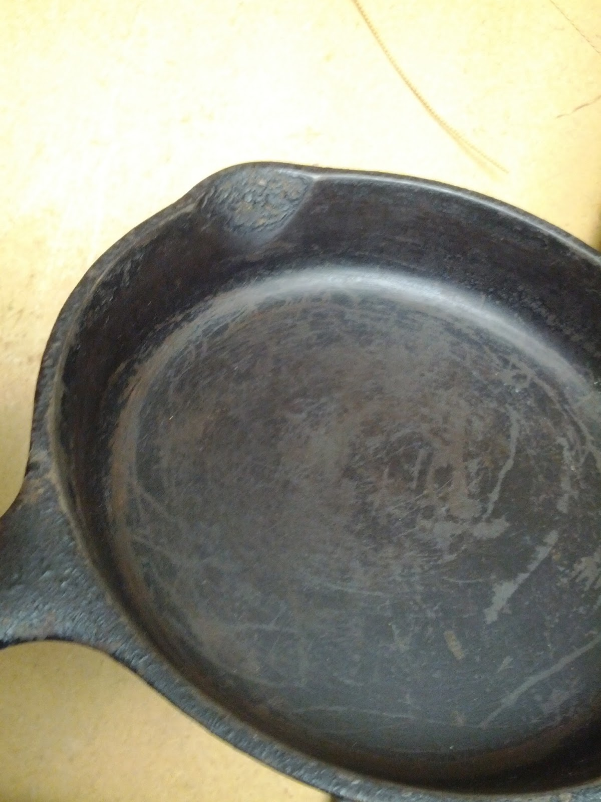Curt Corwin's Blog: How to clean cast iron cookware with