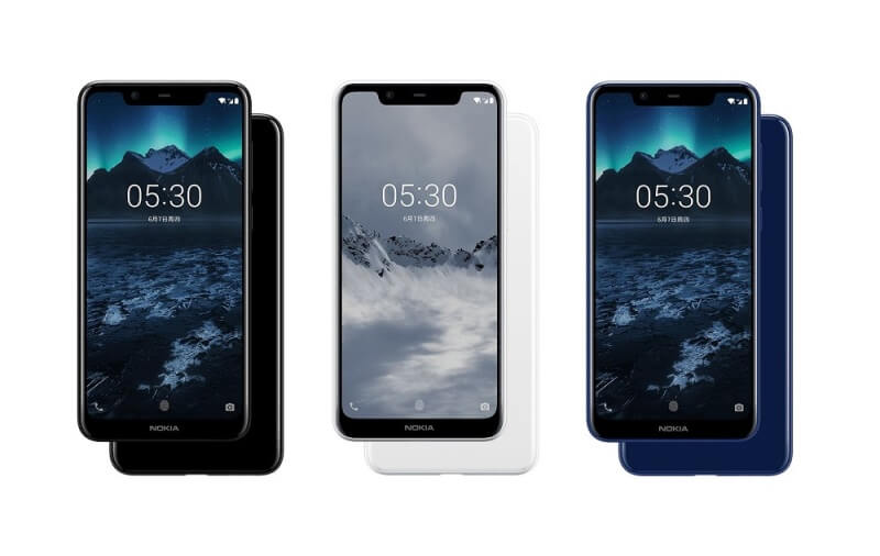 Nokia X5 Announced; 19:9 Display, Helio P60, up to 4GB of RAM, and Dual Cameras