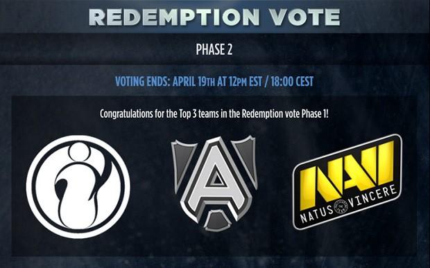 """redemption vote - Khi các game thủ Dota 2 """"hóa"""" thân thành những """"hot girl nóng bỏng"""""""