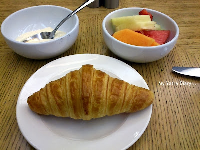My breakfast spread in Hotel Citigate, Melbourne