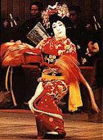 Танцьор на кабуки, Япония.