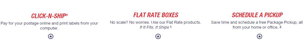 usps click n ship