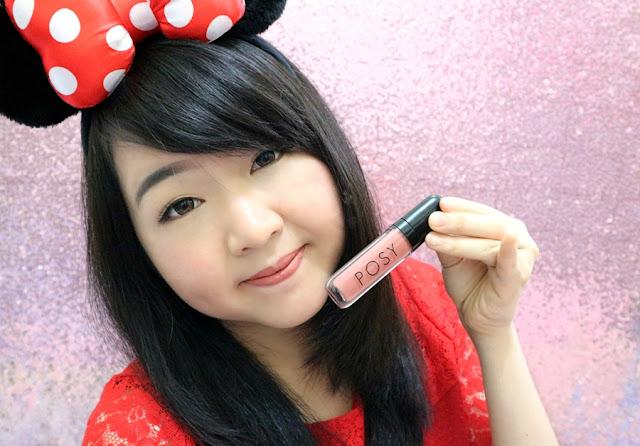 Posy Beauty Lip Cream in Envy Review Meiliyana