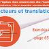 Exercice 08 page 65 - Vecteurs et translations