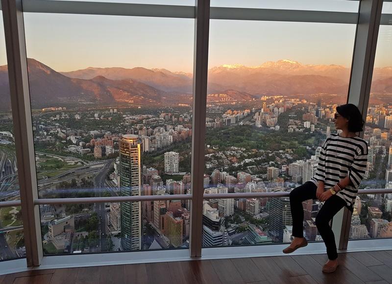 Sky Costanera, mirante mais alto da América Latina