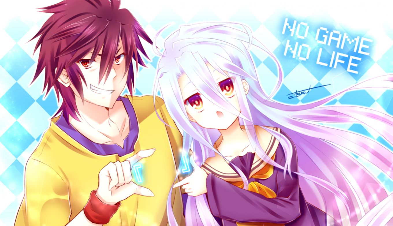 No Game No Life Anime Gold Wallpapers