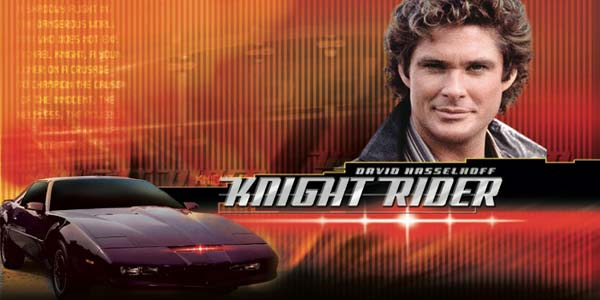 film serial barat era 90-an, knight rider