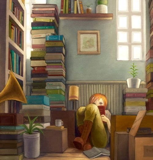 A Reading Nook is the best kind of nook.