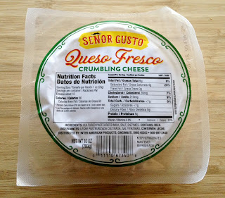 Queso Fresco for Smoked Pork Shoulder Tacos with Ancho-Bourbon Sauce and Fresh Peach-Habanero Salsa