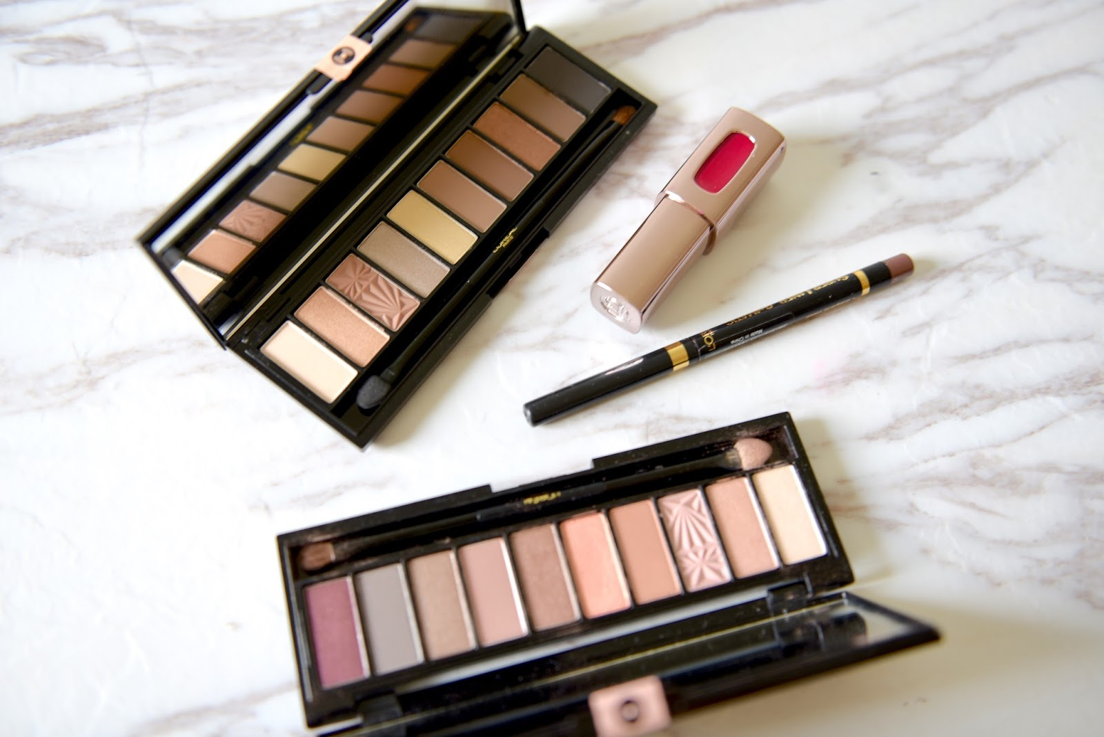 Warm Loreal Nude Palette Png