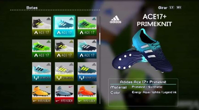 Adidas Ace 17+ Primeknit Boots PES 2013