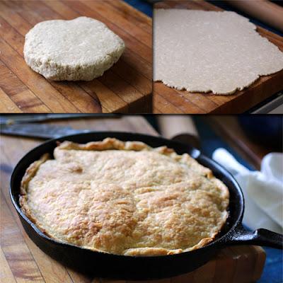 crust for cast iron apple tarte tatin www.recipefiction.com