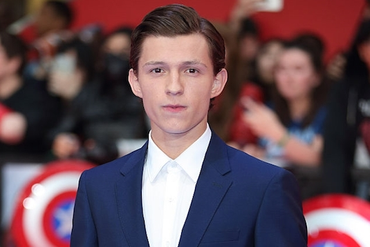 Tom Holland Civil War Premiere