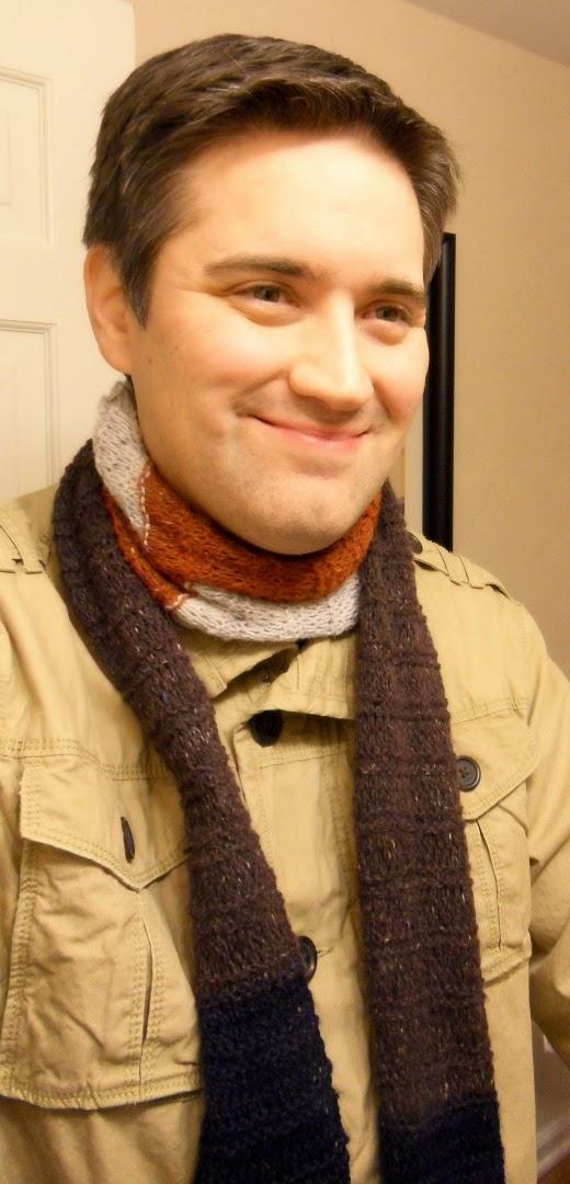 DIY - Knitted Bofur Scarf