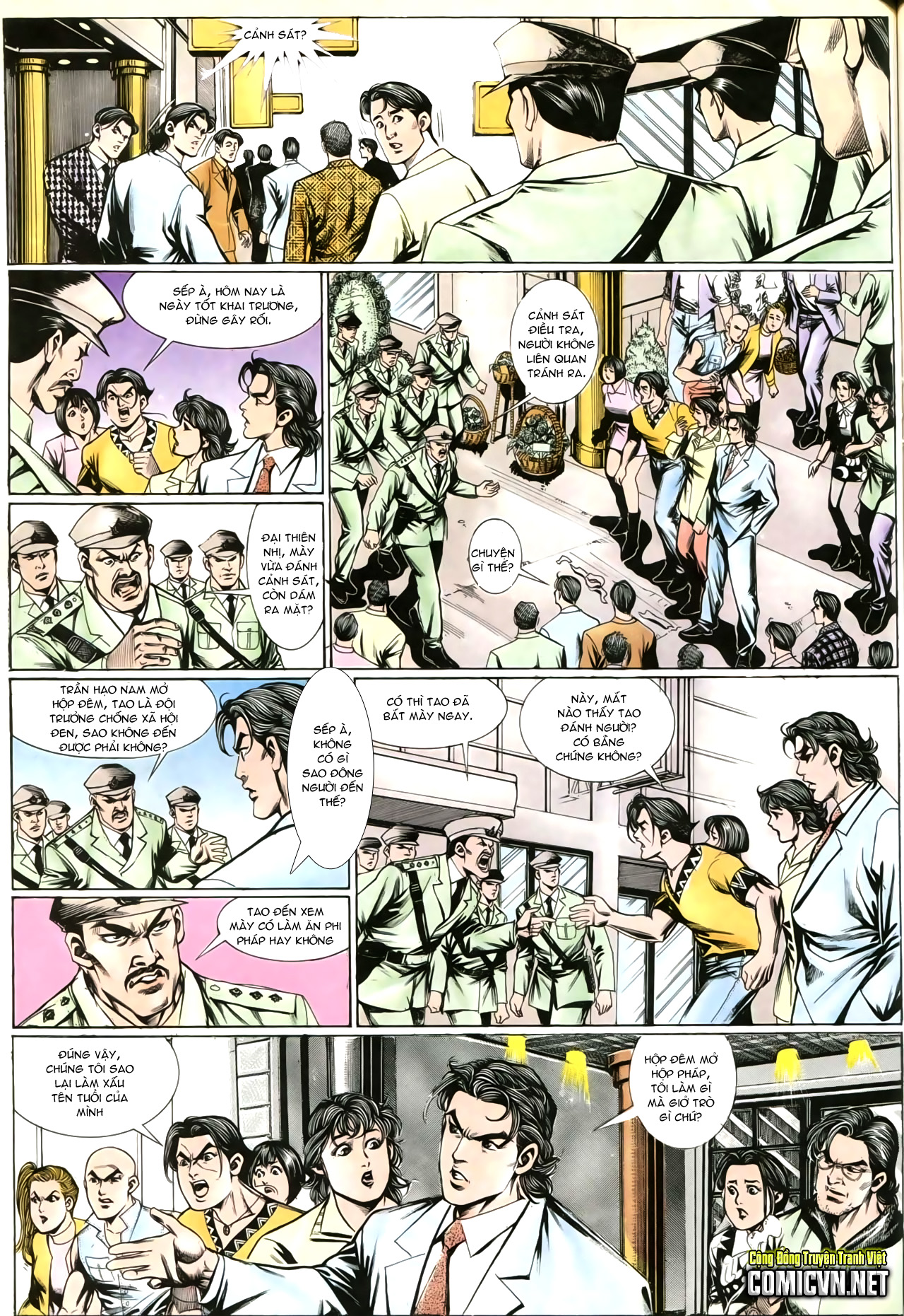 Người Trong Giang Hồ chapter 202: đối đầu trang 5