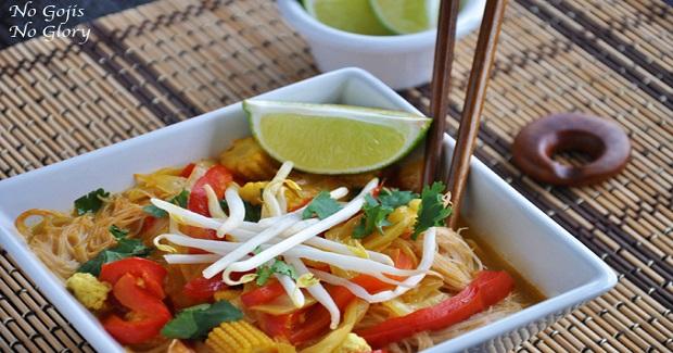 Spicy Vegetable Tofu Laksa Recipe