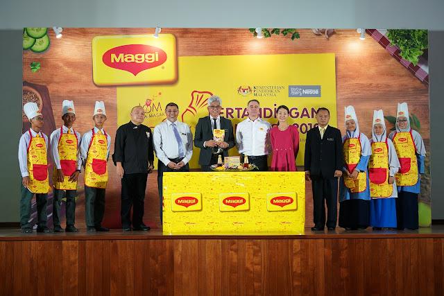 Program maggi, maggi berkolaborasi dengan kpm, pencarian chef muda maggi, pertandingan memasak sekolah menengah bersama maggi, Info,