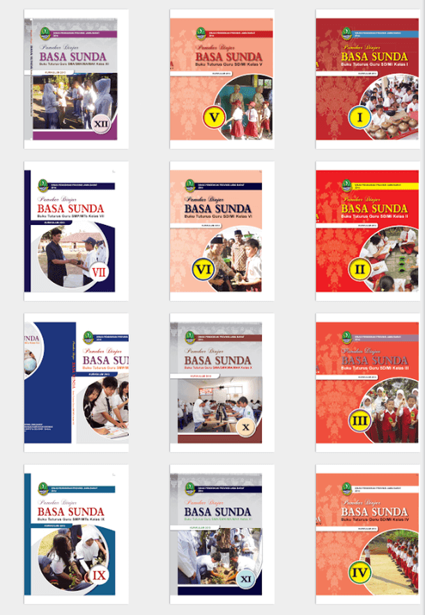 Buku Guru Bahasa Sunda SD MI SMP MTs SMA SMK MA MAK Lengkap