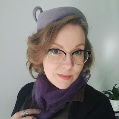 lovely ladies vintage hat
