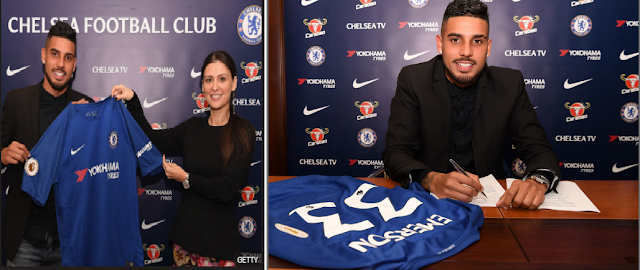 Chelsea complete Emerson Palmieri signing
