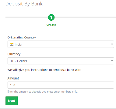 Adding funds to Payza India wallet
