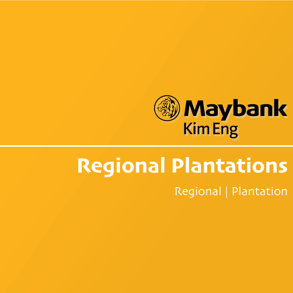 Regional Plantation Stocks - Maybank Kim Eng Research | SGinvestors.io