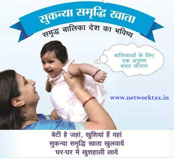 How to Open Sukanya Samriddhi Account in Post Office With Automated Income Tax All in One For Govt & Non-Govt Employees for F.Y.2018-19