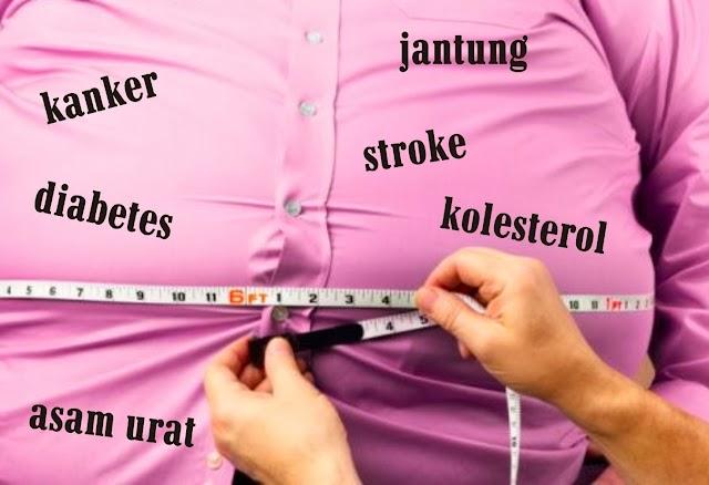 Awas! Obesitas Bisa Bikin Memori Buruk