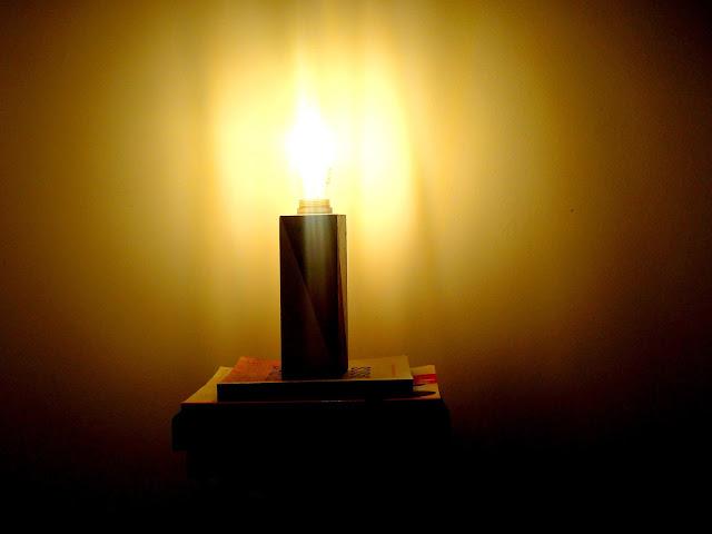 Se prendi� la lamparita!