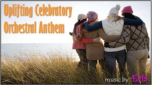 "Uplifting Celebratory Orchestral Anthem"" border ="