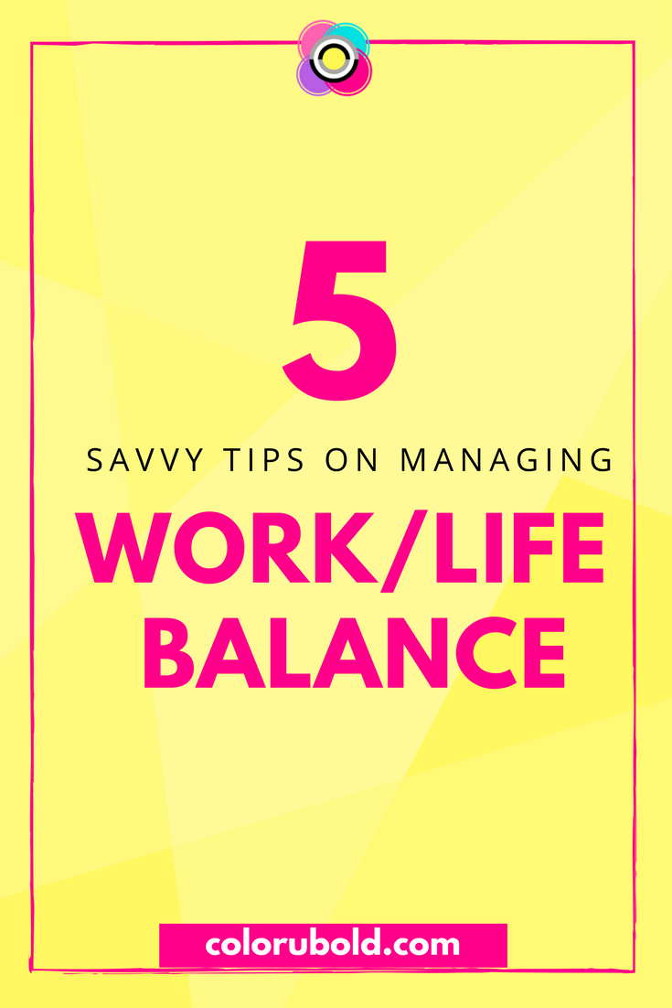 How to manage work life balance may be easier than you think.