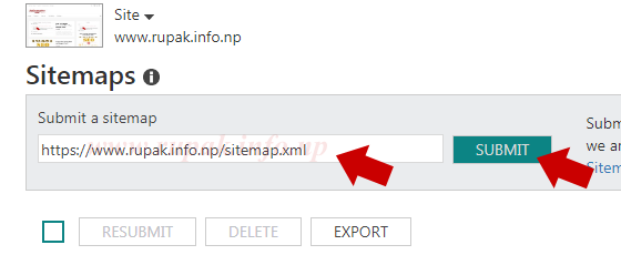 How To Submit Blogger XML Sitemap To Google And Bing
