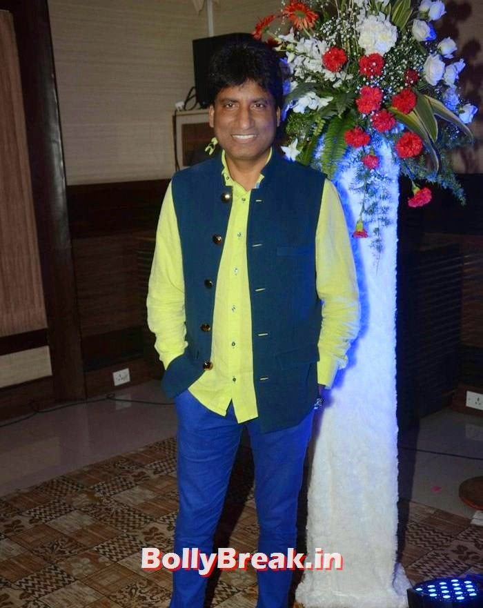 Raju Srivastava, Kunickaa Sadanand Lall Latest Hot Pics from New Talk Show