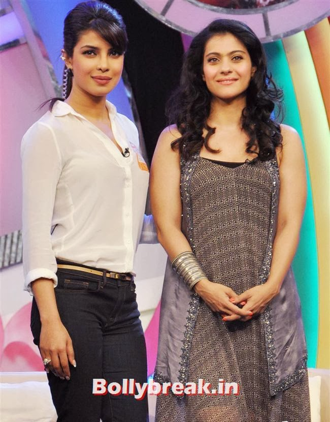 Priyanka Chopra and Kajol, Priyanka Chopra Our Girl Our Pride Campaign Show Pics