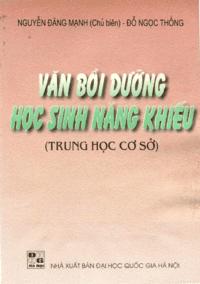 Văn Bồi Dưỡng Học Sinh Năng Khiếu - Nguyễn Đăng Mạnh