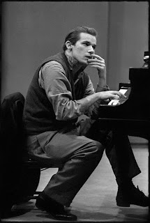 Glenn Gould at the piano in New York City, 1963