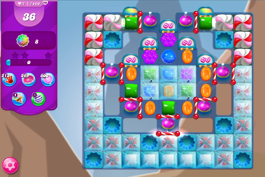 Candy Crush Saga level 7460