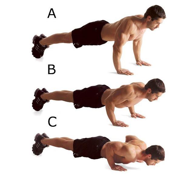3 bài tập cơ ngực tại nhà hiệu quả cho nam giới