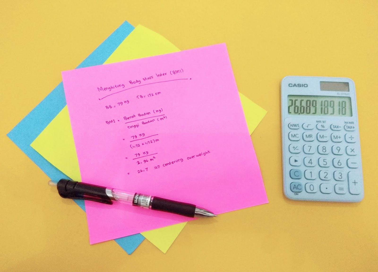 Cara Menghitung Kebutuhan Kalori Tubuh per Hari