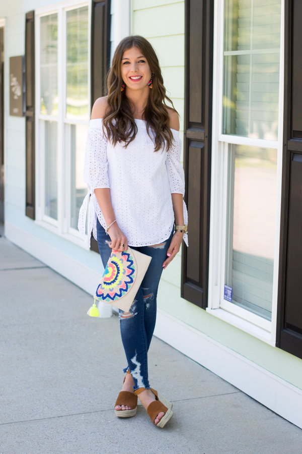 How To Spice Up A Basic Outfit With Accessories by Charleston fashion blogger Kelsey of Chasing Cinderella