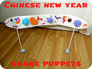 How to Make Chinese New Year Snake Puppets