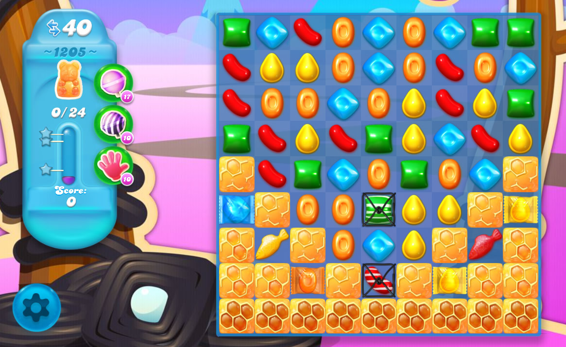 Candy Crush Soda Saga level 1205