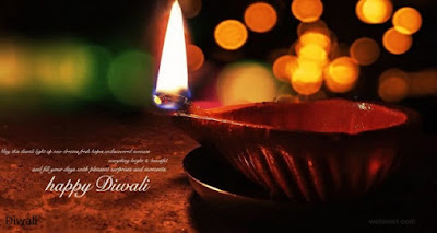 Happy Diwali Diyas Wallpaper